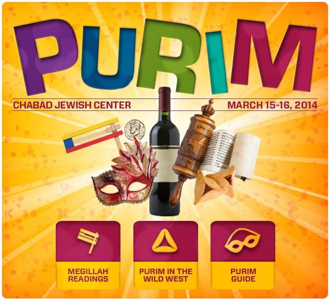 Purim with Chabad Jewish Center